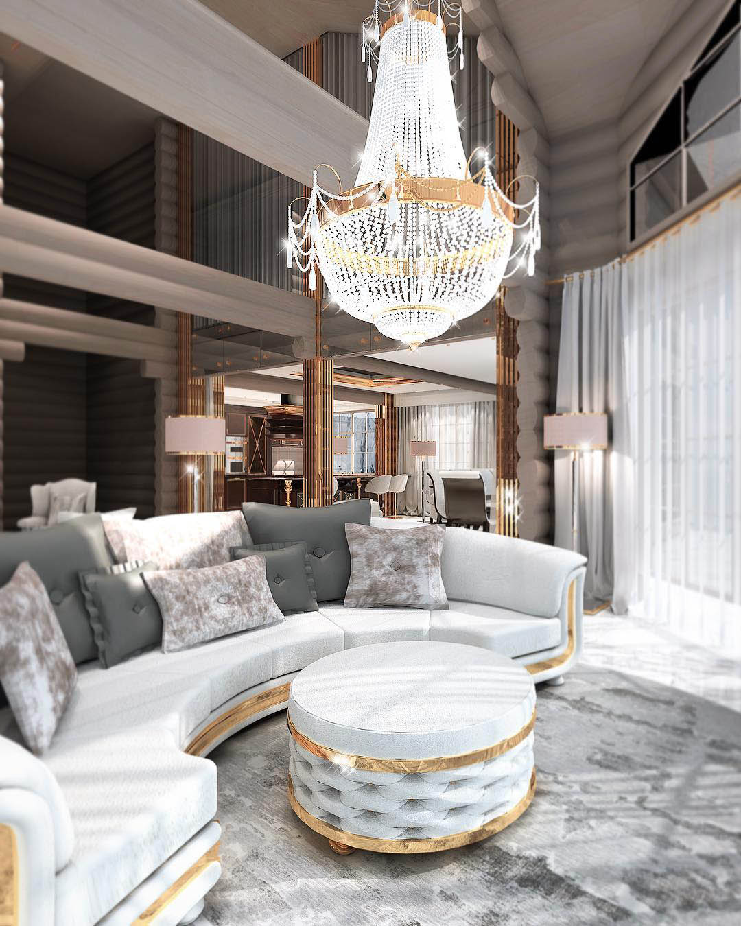 Constantin Frolov Interior Design   Luxury Living Room Ideas