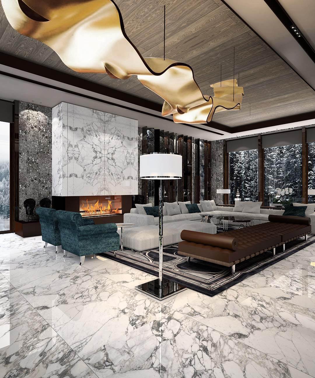 Constantin Frolov Interior Design | Glamorous Interior Design