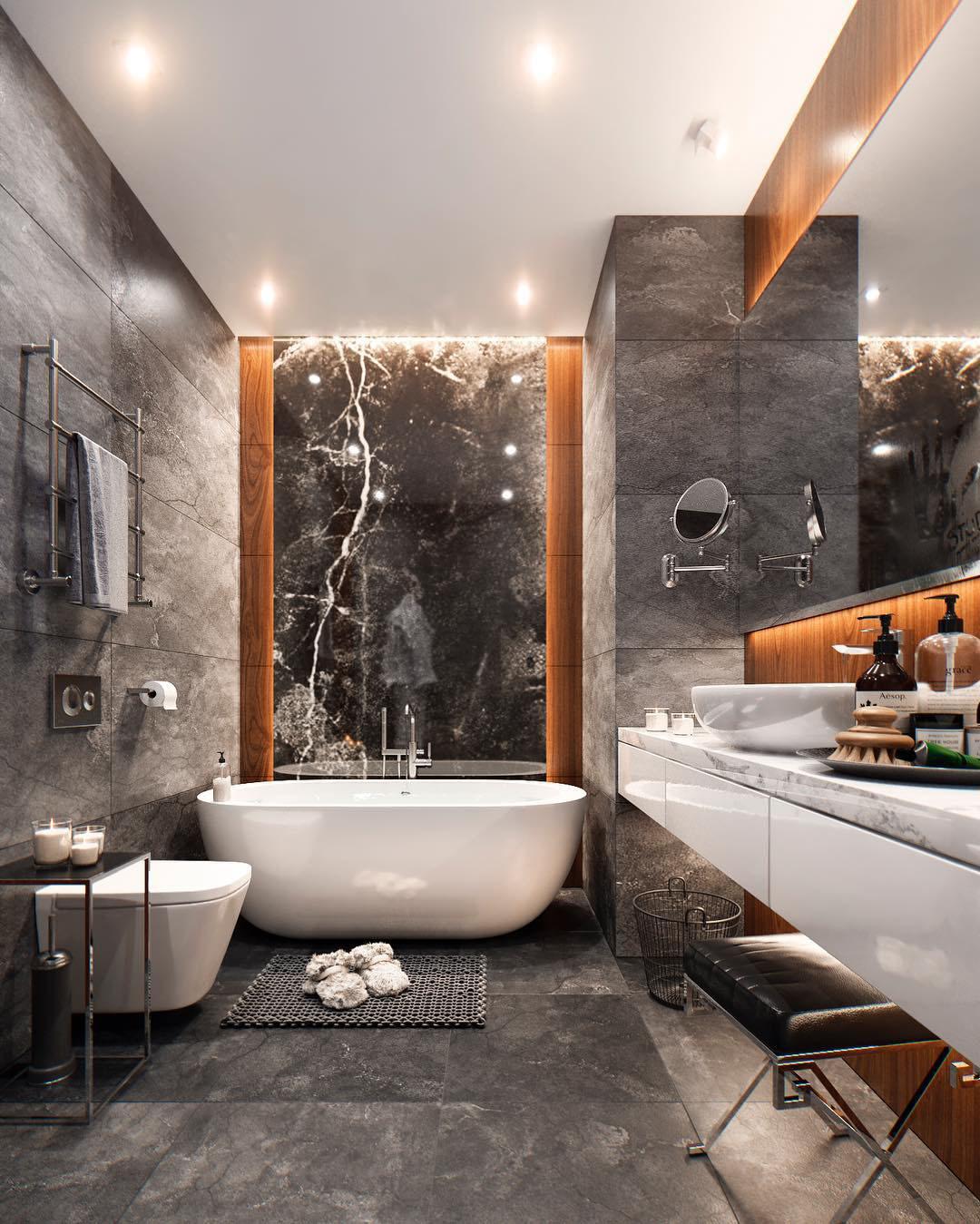 Spa-Like Bathroom by Studia 54