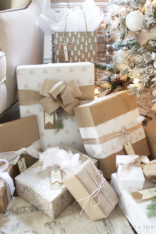 Champagne and White Christmas   Tuft & Trim Blog