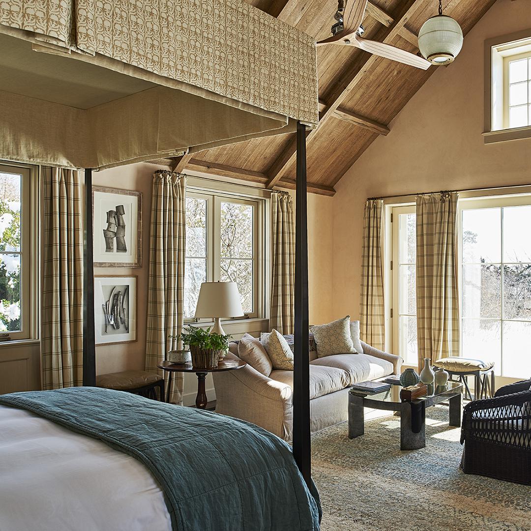 Michael S. Smith Interiors   New Colonial   East Hampton, NY