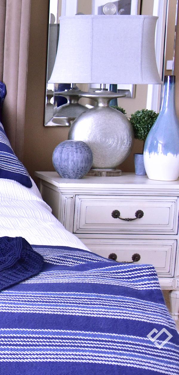 Modern Coastal Bedroom | Designed by Tracy Svendsen | Buyer Select Blog