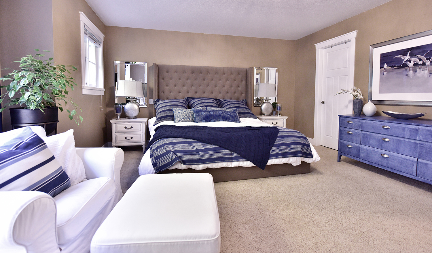 My Modern Coastal Bedroom | Designed By Tracy Svendsen | Buyer Select Blog