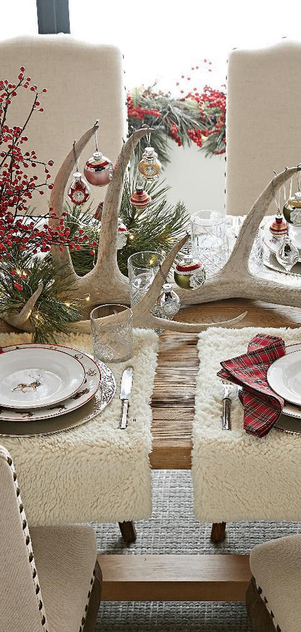 Christmas Tablescape   Christmas Decorating Ideas