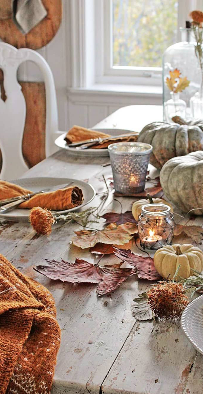Autumn Tablescape | Vibeke Design