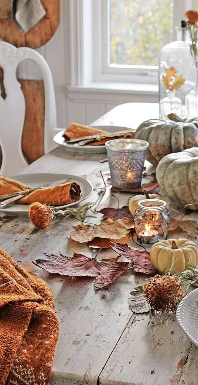 Autumn Tablescape | Vibeke Design