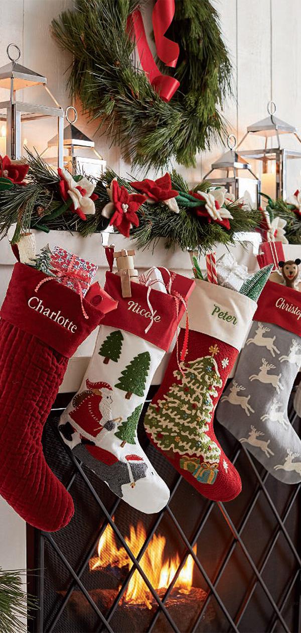 Christmas Stockings   Christmas Decorating Ideas