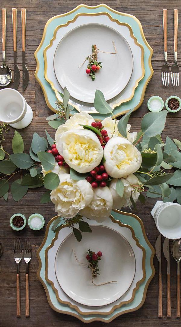 Christmas Tablescape | Casa de Perrin