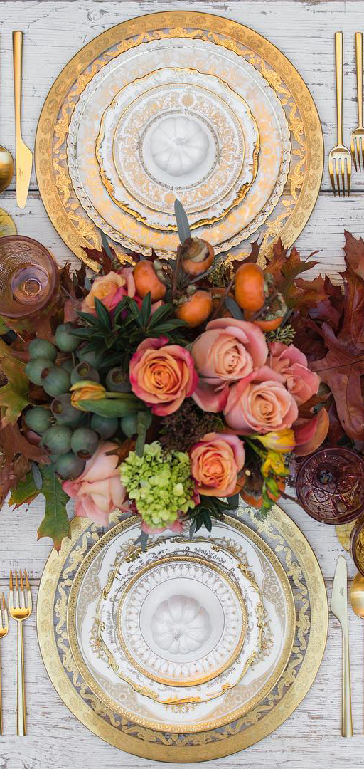 Fall Tablescape Ideas | Case de Perrin