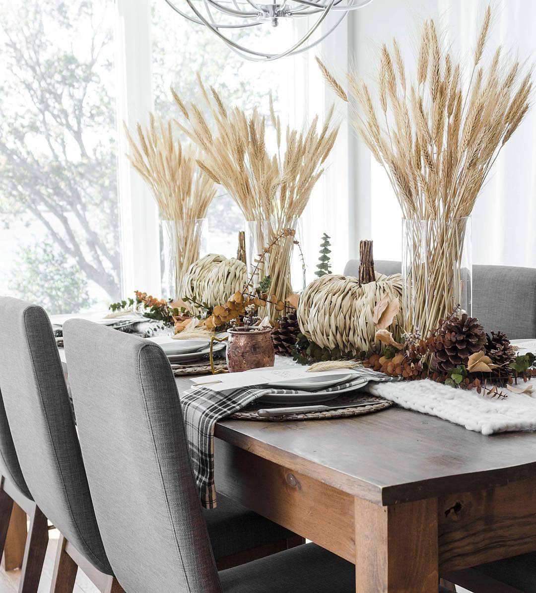 Fall Tablescape | The Lovely Deco