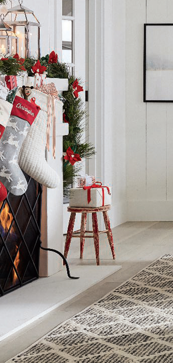 Christmas Mantel   Christmas Decorating Ideas