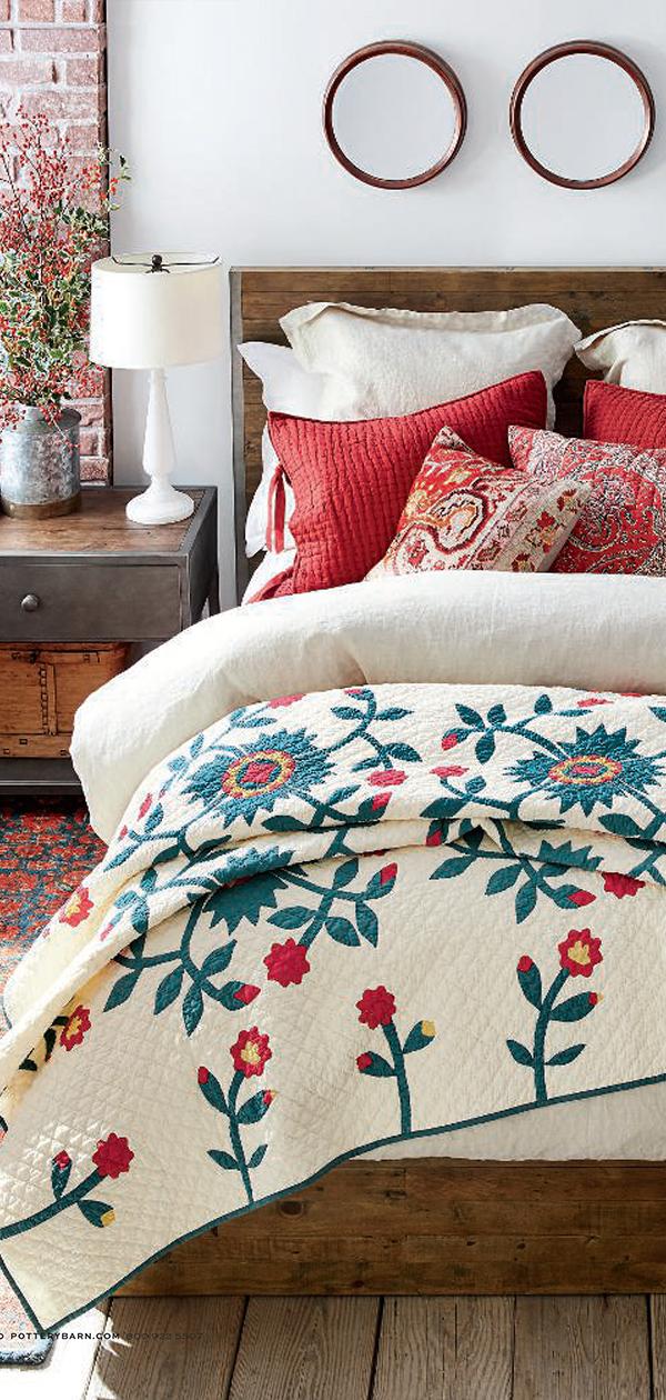 Christmas Lodge Bedding | Christmas Decorating Ideas