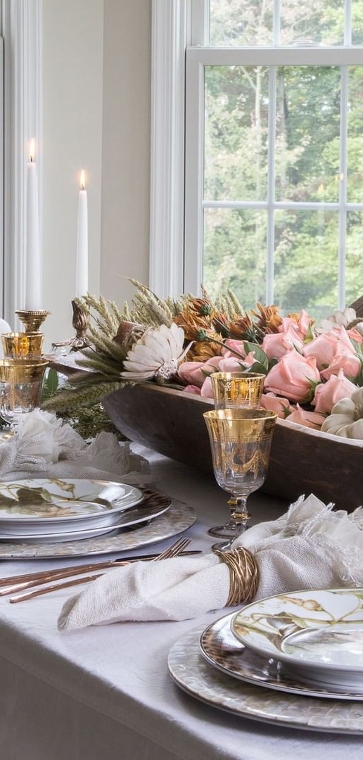 Thanksgiving Tablescape Design | Design Enthusiasm Blog