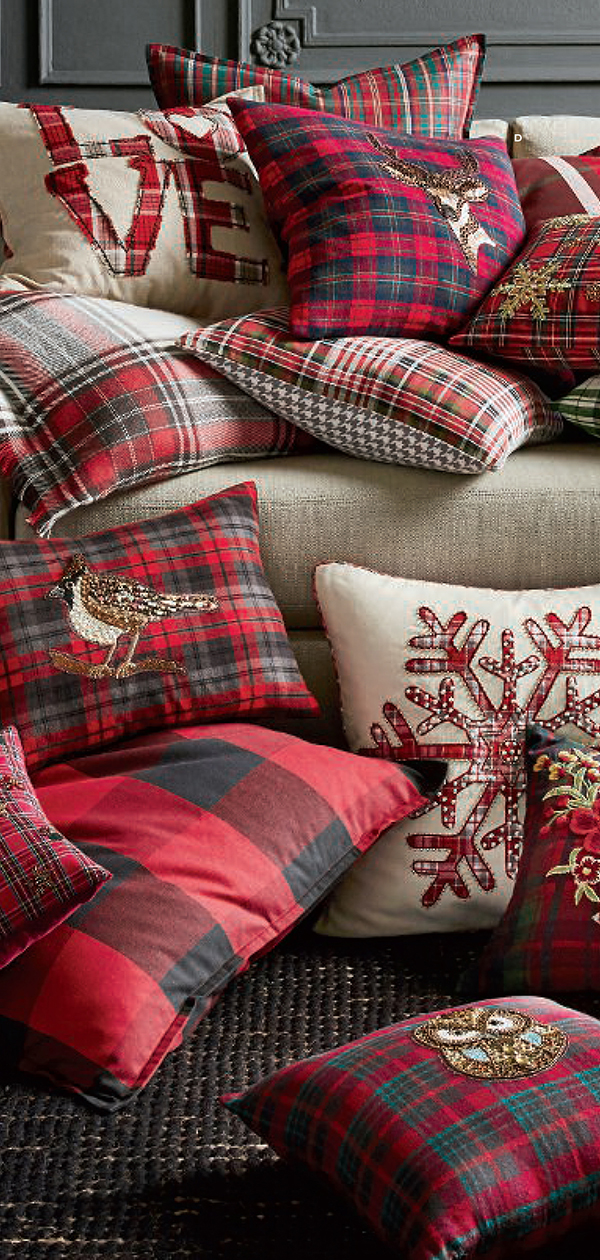 Christmas Pillow Covers | Christmas Decorating Ideas