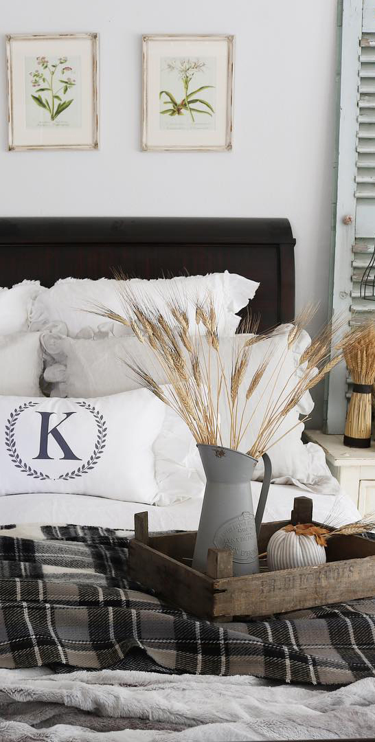 Fall Bedroom Ideas | The Design Twins