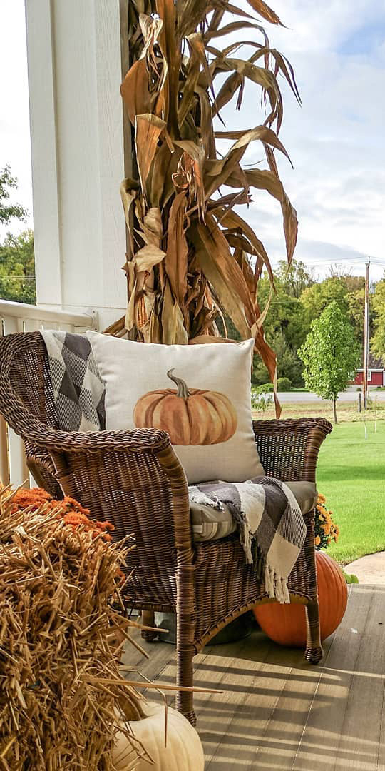 Fall Porch Ideas | Simple Decor with Amy