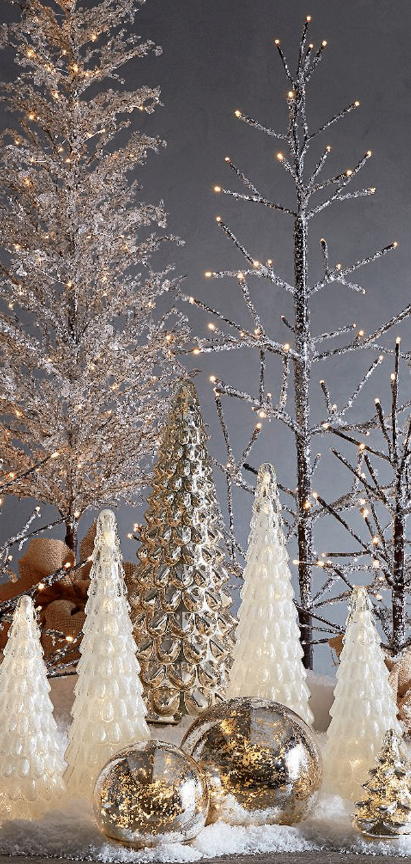 Frosty Christmas Decorations