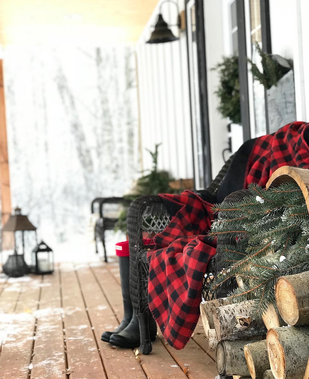 Rustic Christmas   Cotton Wood Acres