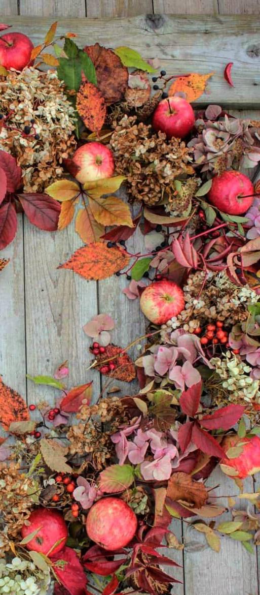 Beautiful Fall Wreath | Vibeke Design