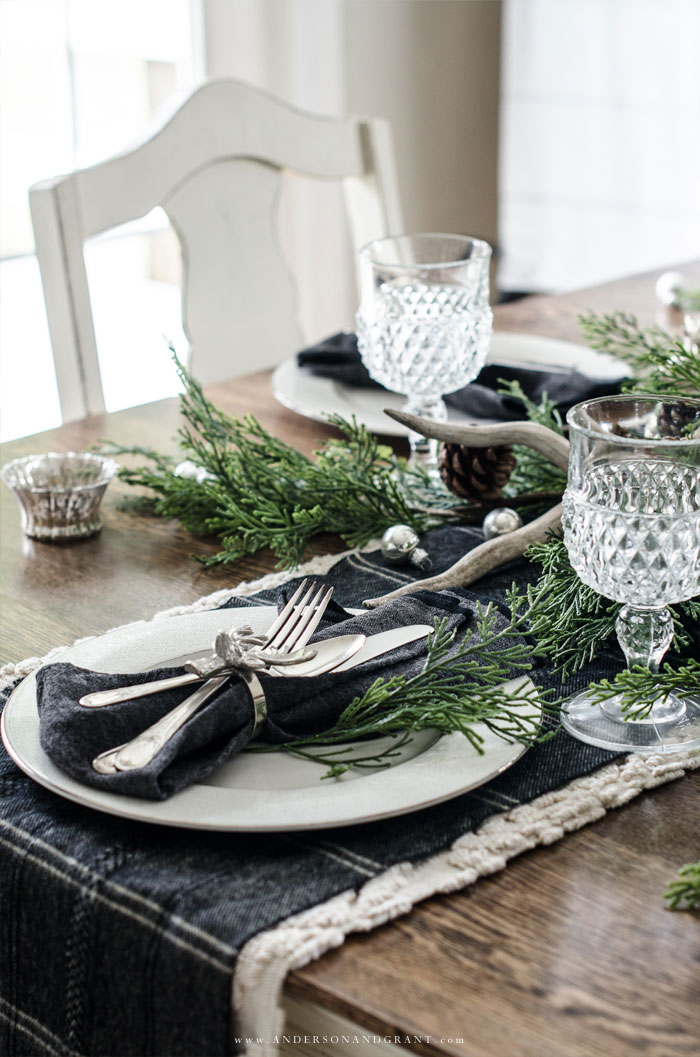Christmas Table Ideas | Anderson & Grant