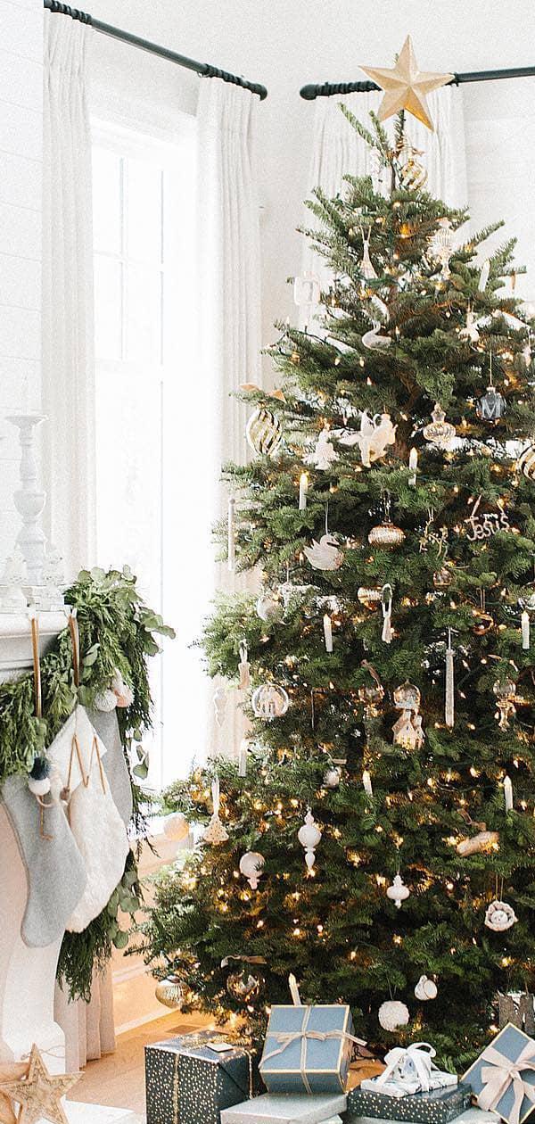 Christmas Tree Ideas   The Lovely Deco