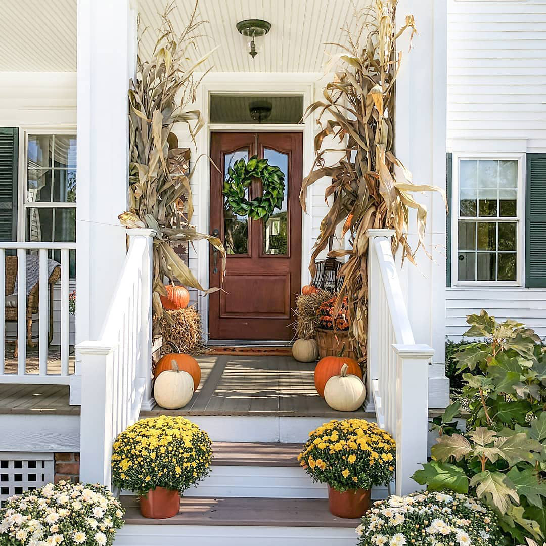 Fall Outdoor Ideas | Simple Decor with Amy
