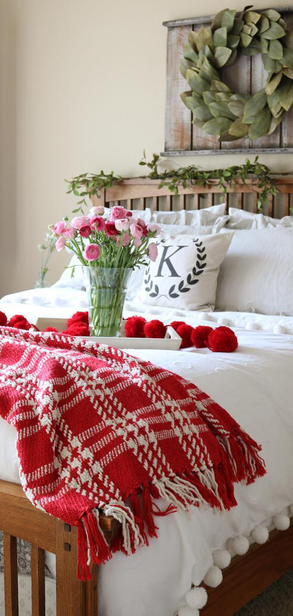 Christmas Bedroom by Jodie of the Design Twins