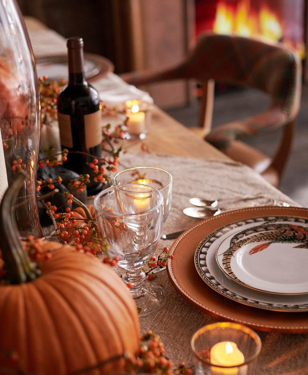 Ralph Lauren Thanksgiving