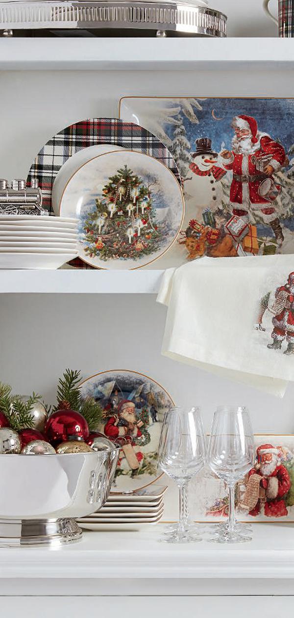 Christmas Dinnerware