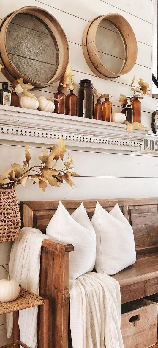 Fall Entranceway | White Tail Farmhouse