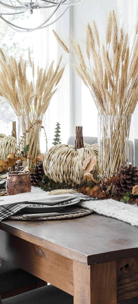Fall Tablescape Ideas | The Lovely Deco