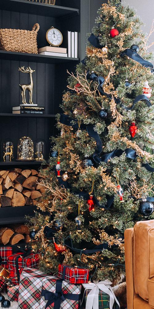 Stunning Red, Blue & Gold Christmas   Craftberry Bush Blog