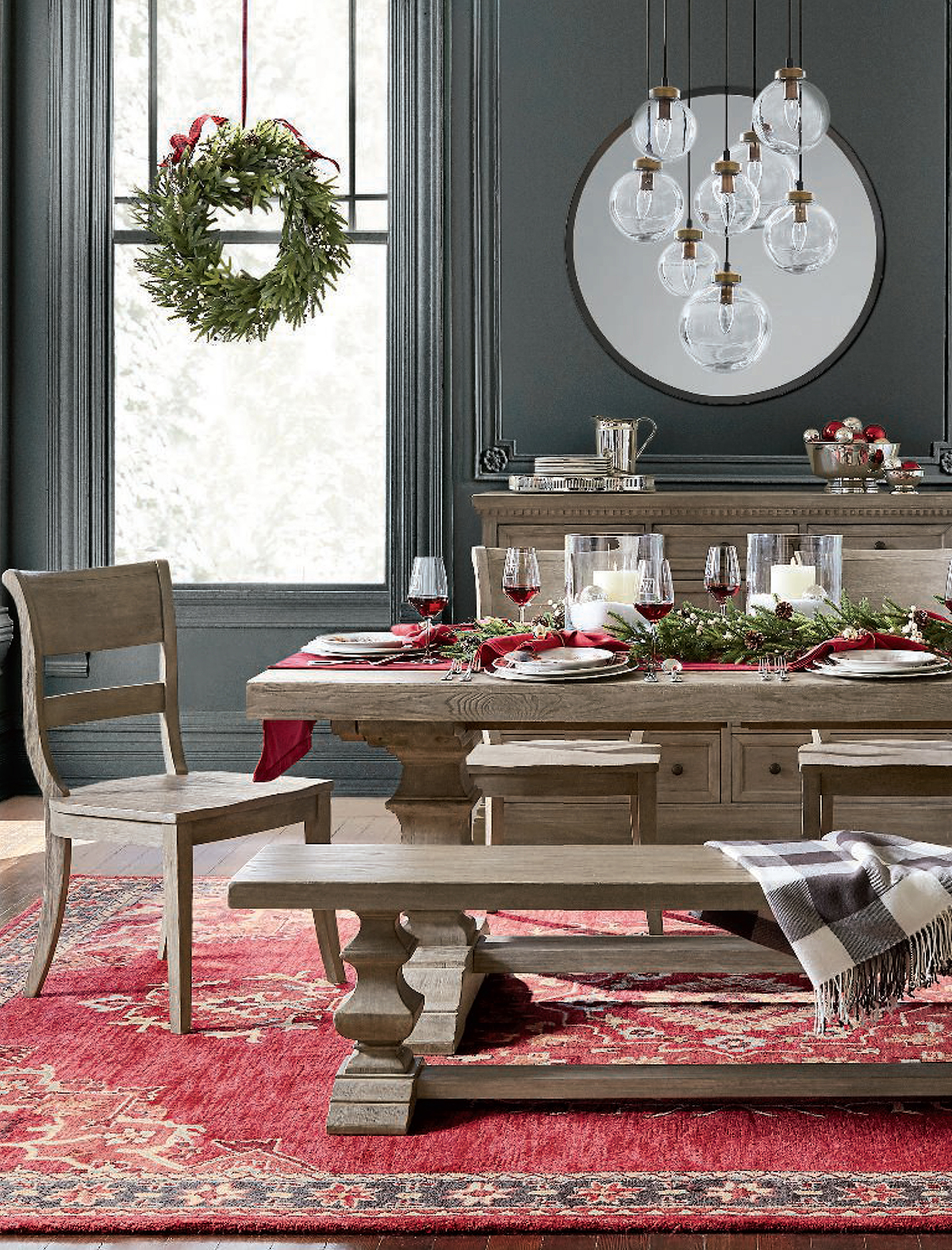 Christmas Dining Room Ideas   Banks Dining Room Collection