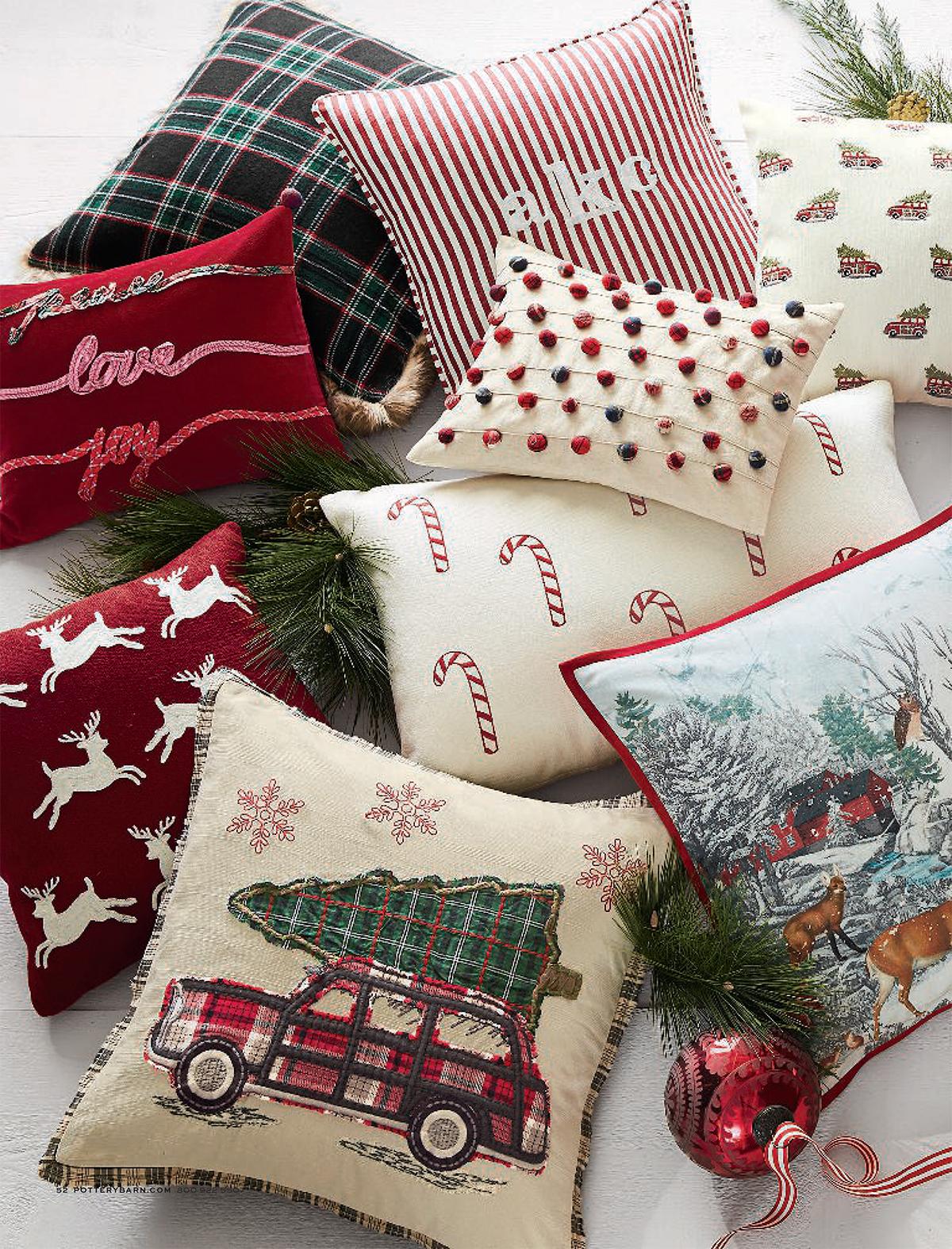 Nostalgic Christmas Pillows