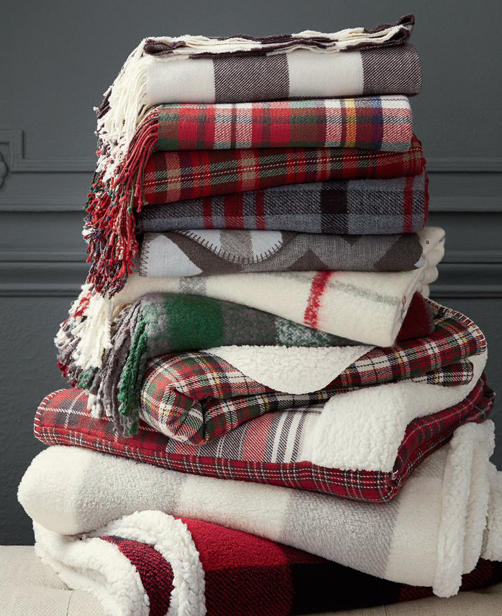 Cozy Christmas Blankets & Throws