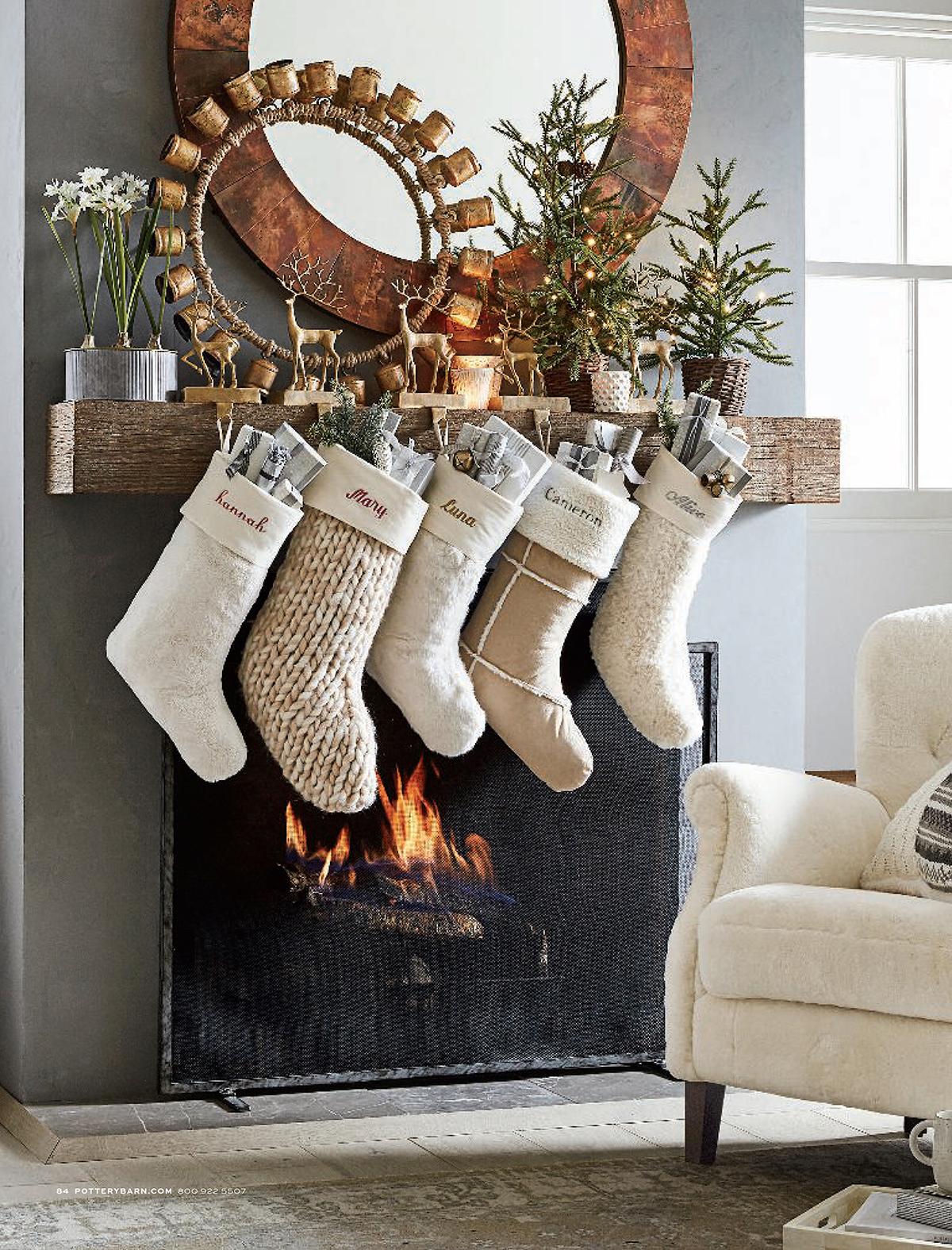 Cozy Knit Stockings
