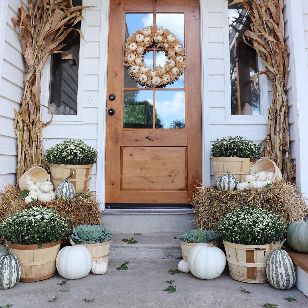 Fall Entranceway | Randi Lynne Blog