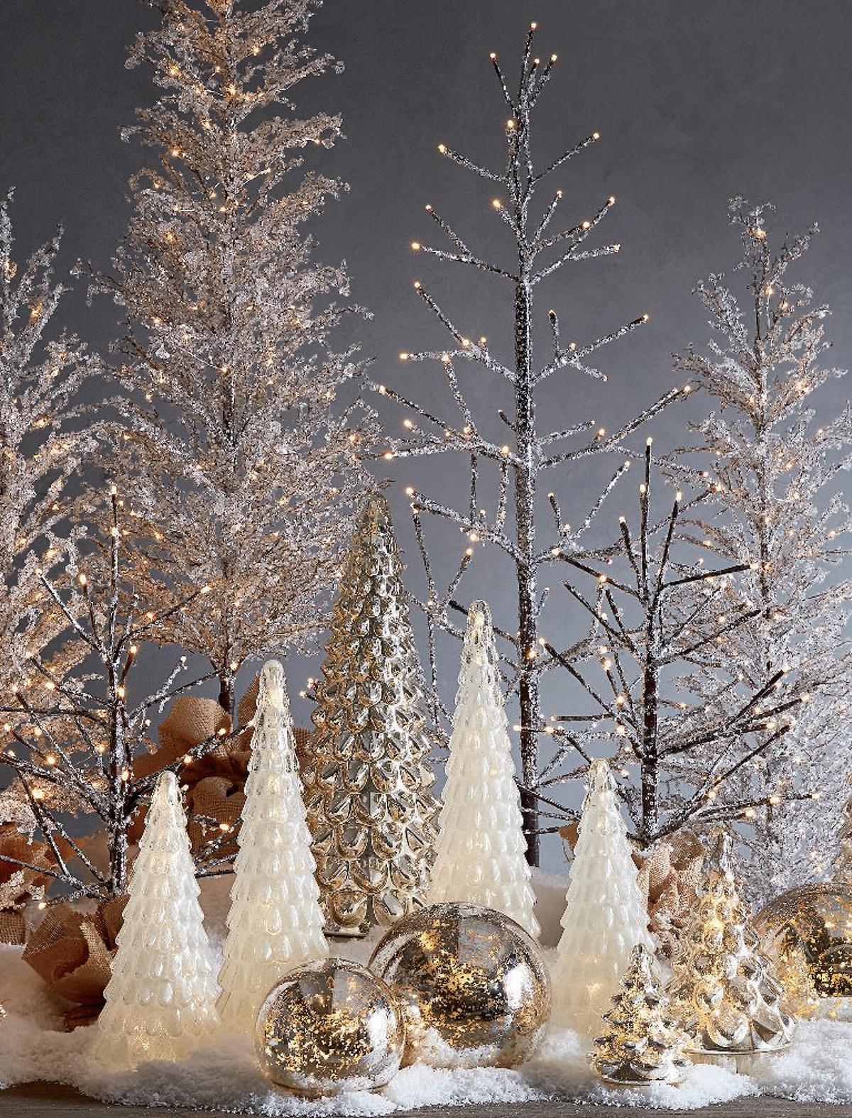 Frosty Christmas Home Decor
