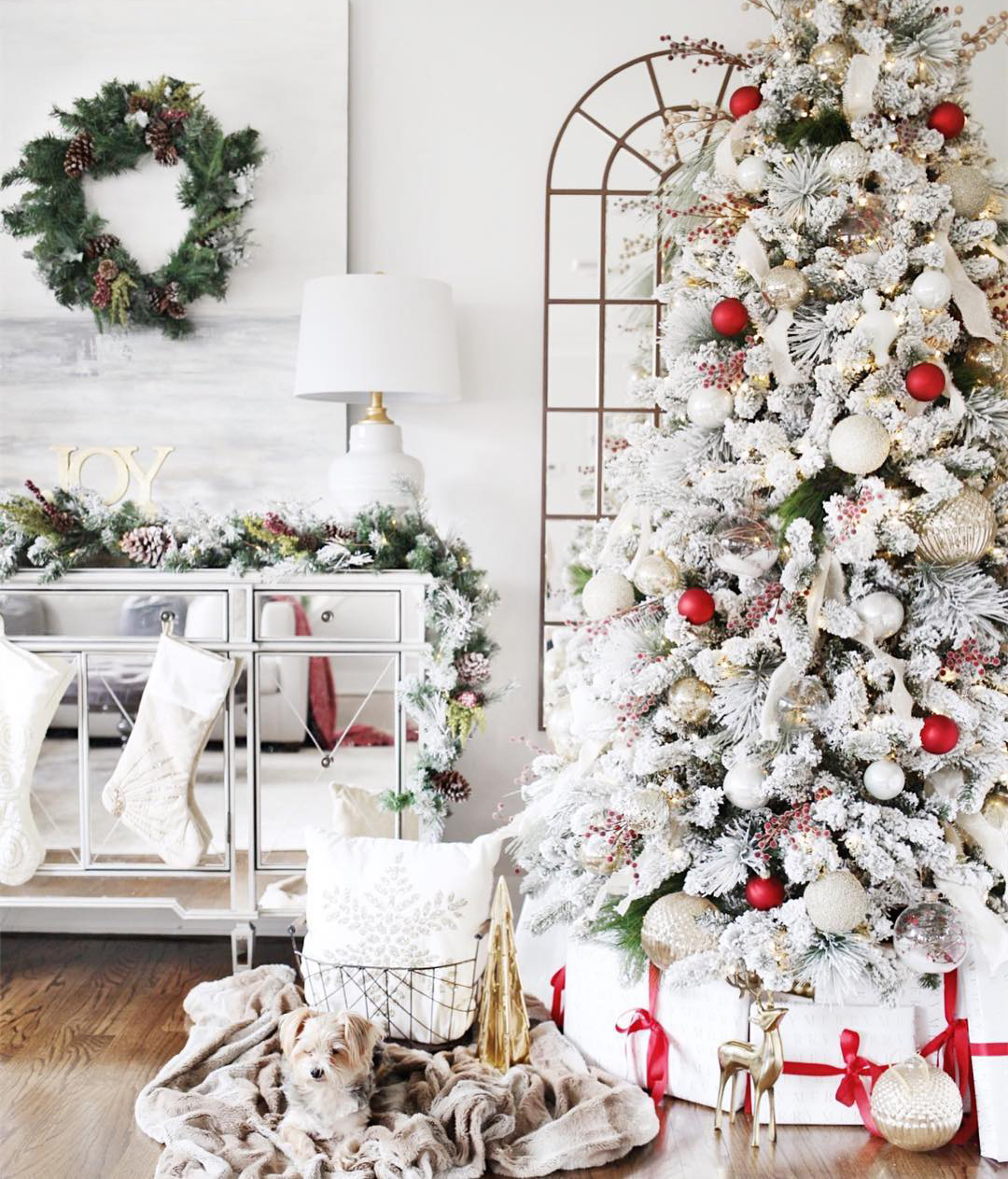 Frosty Christmas Tree | Jaclyn Mari