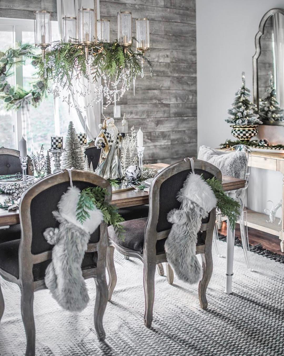 Rustic Christmas Decorating Ideas   House of 5 Blog
