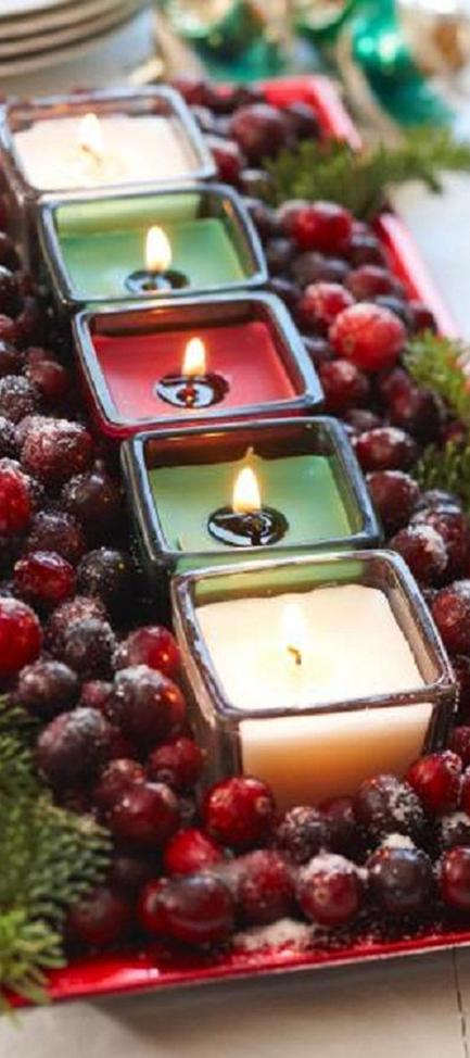 Small Christmas Centerpieces