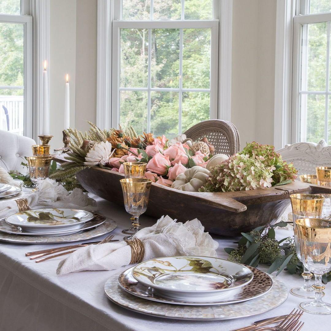 Thanksgiving Tablescape | DesignThusiasm Blog