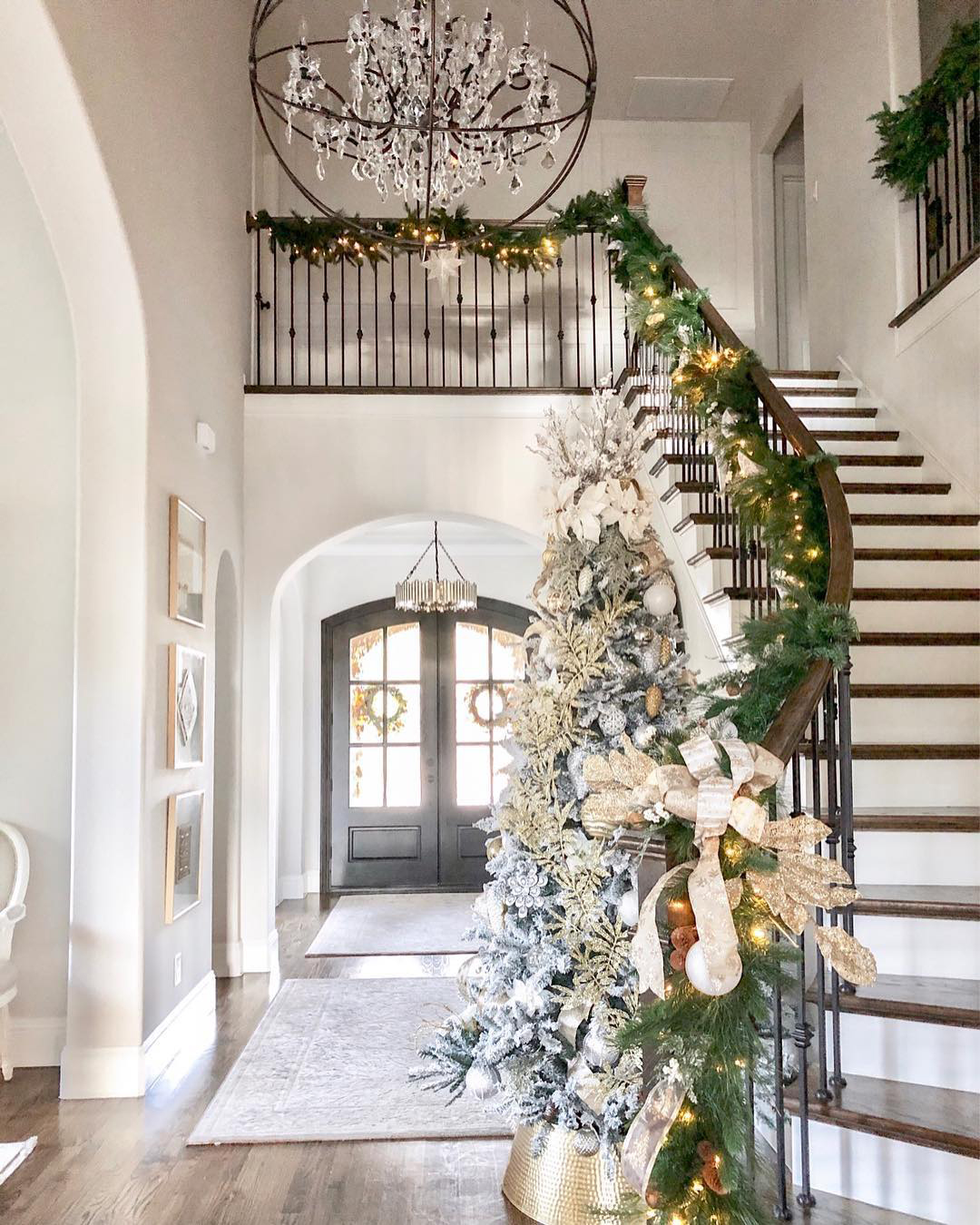 Classic Style Christmas Tree   Classic Style Home on Instagram