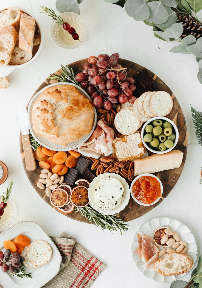 Holiday Cheese Board   Camille Styles