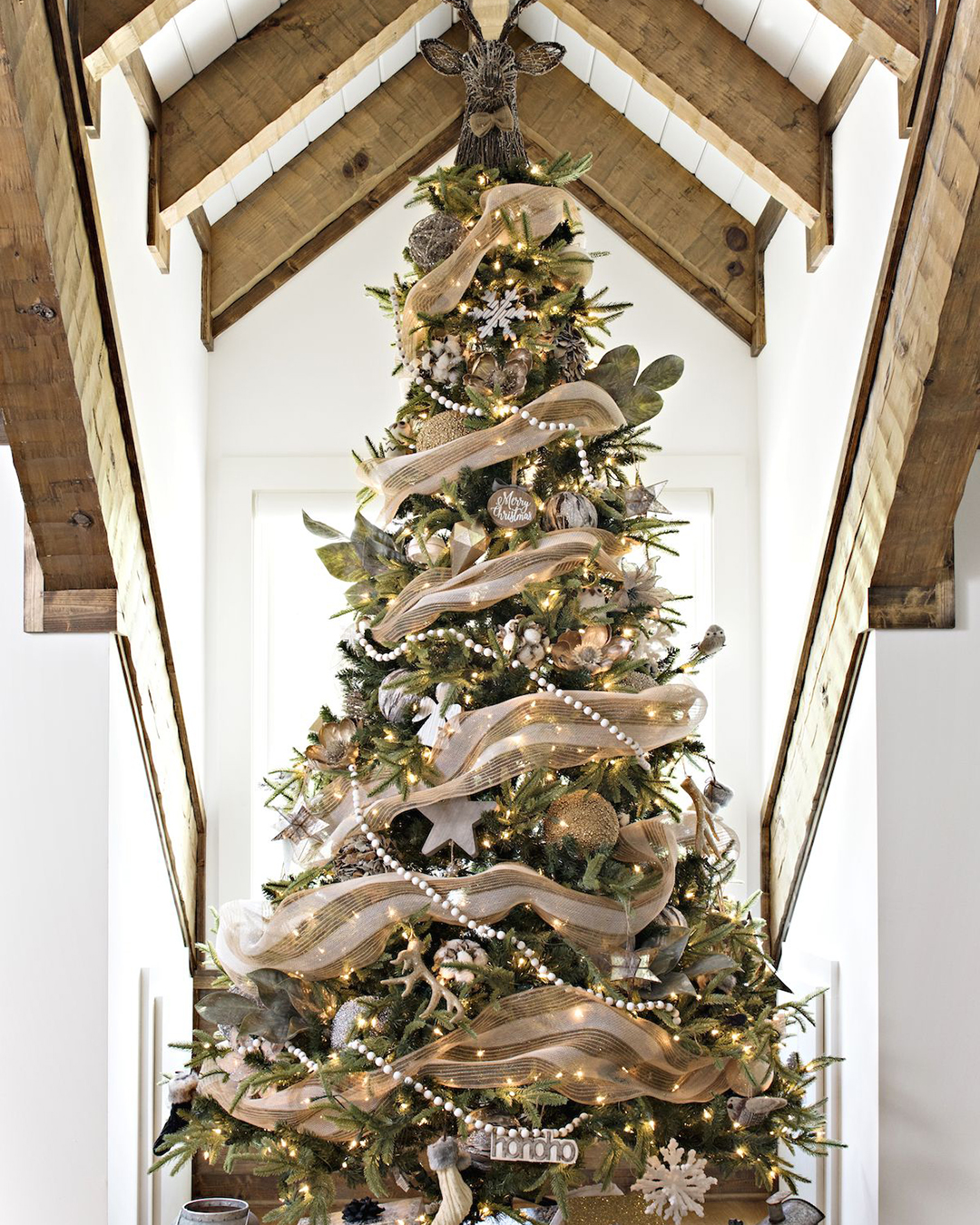 Rustic Christmas Tree   Kirklands