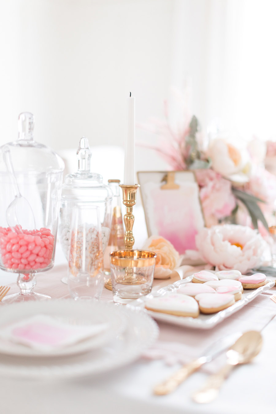 Valentine's Day Tablescape Ideas | Randy Garrett Design