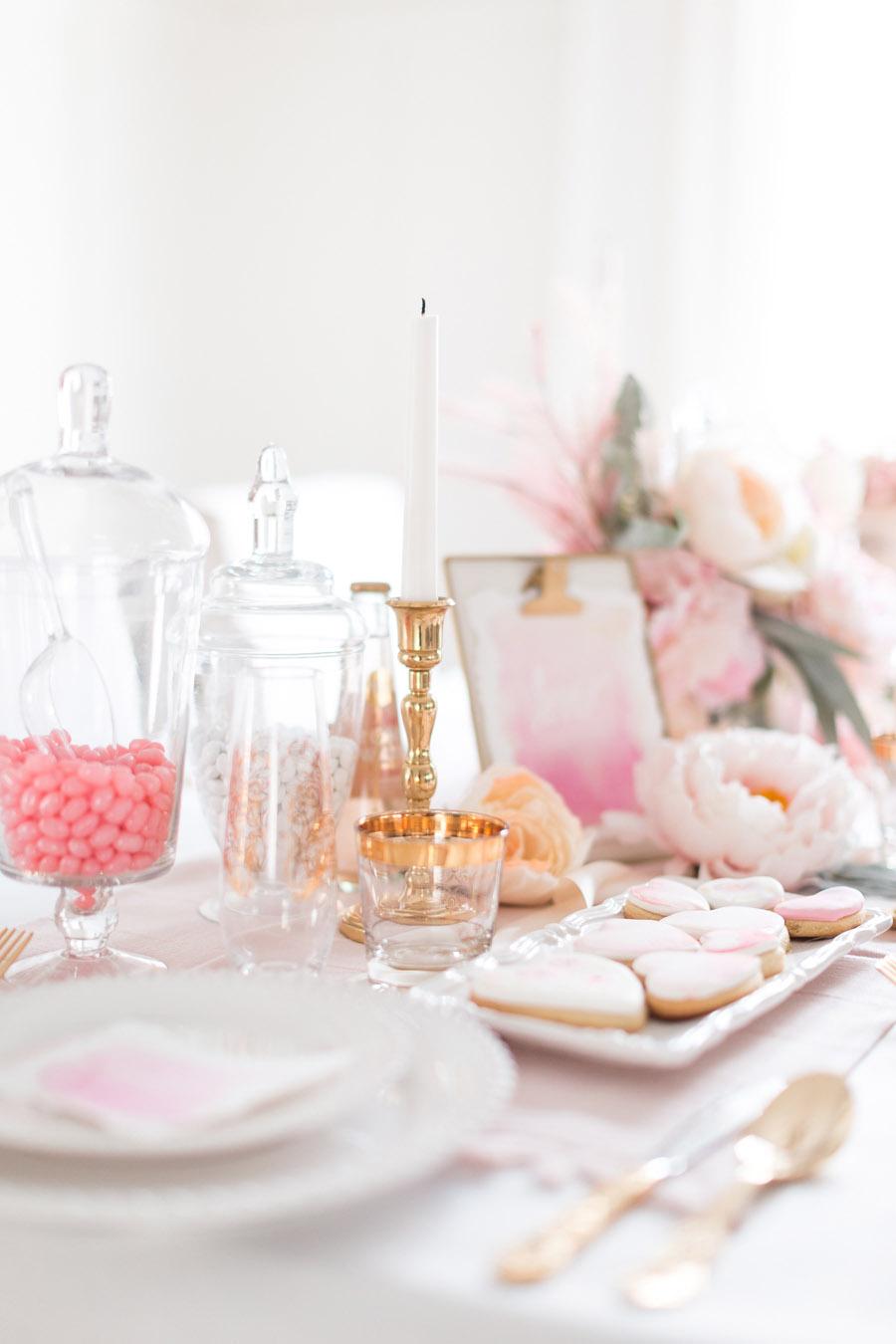 Valentine's Day Tablescape Ideas | Randy Garrett Design