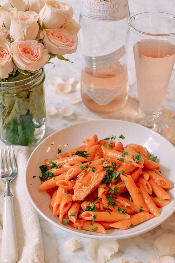 Penne a la Rose   Valentine's Day Dinner Ideas   The Woks of Life