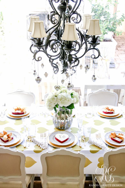Valentine's Day Table Setting Ideas   Randy Garrett Design