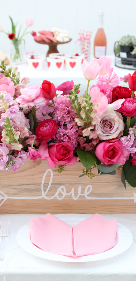Valentine's Table Ideas   Tonality Designs
